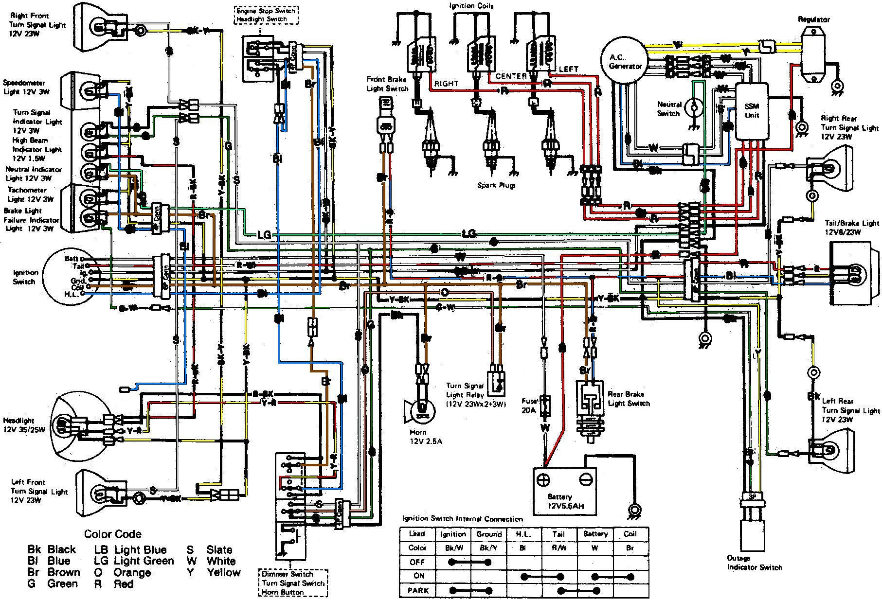 Kawasaki H1 Wiring Diagram Custom 636 H2 All Kind Of Diagrams U2022 Rh Investatlanta Co Atv Vulcan 1500